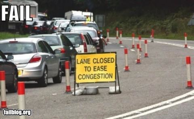 lane_closed_to_ease_congestion_fail