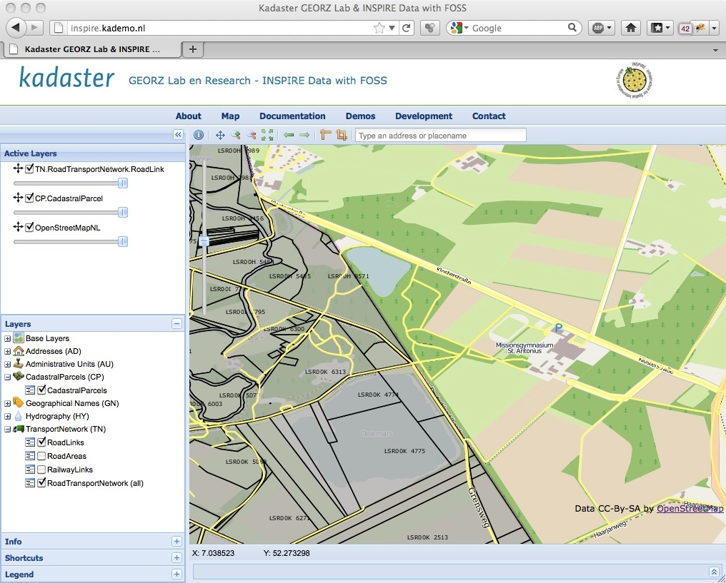 Web mapping client comparison v 6