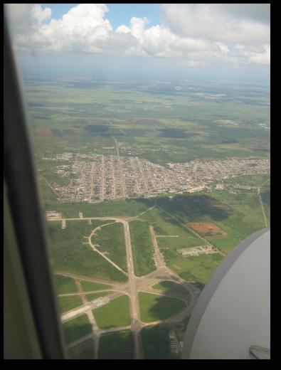 Llegando a Cuba