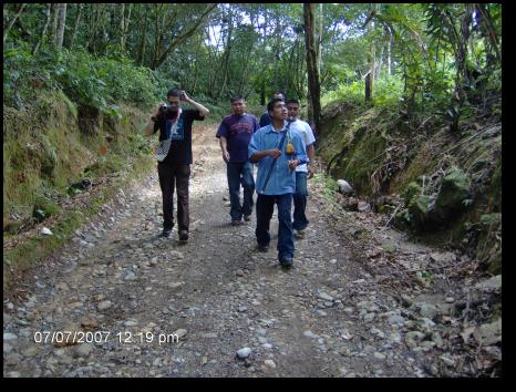 En el Centro Experimental Amazónico