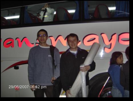 Listos para el viaje a Putumayo