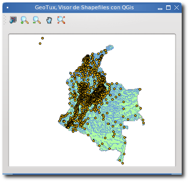 Visor de Shapefiles